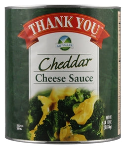 Thank You Aged Cheddar Cheese Sauce - 107oz - Pack of 6 Count