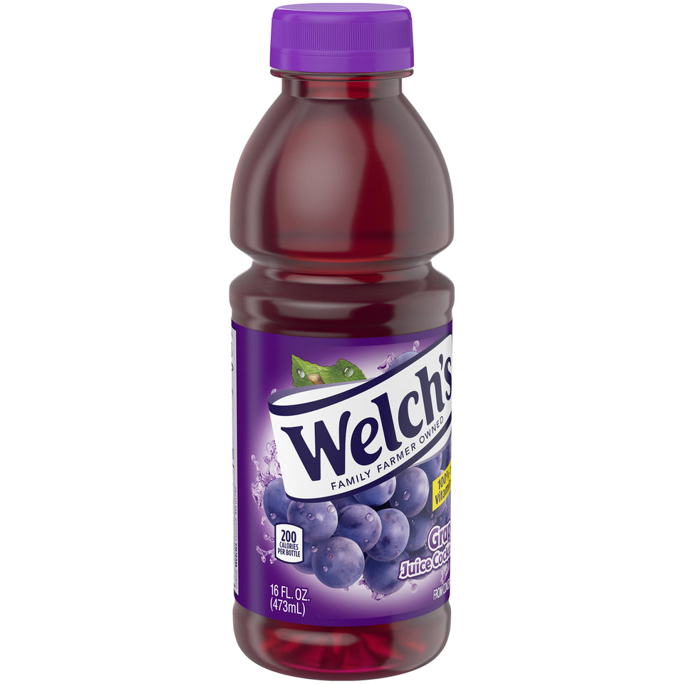 Welch's Grape Juice 16oz. - Pack of 12 Count