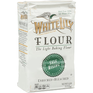 White Lily Self-Rising Flour 5lb. - Pack of 8 Count