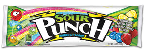Sour Punch Rainbow Straws - 4.5oz - Pack of 24 Count
