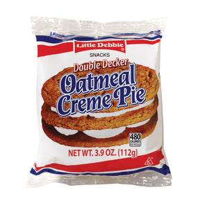 Little Debbie Double Decker Oatmeal Crème Pie - Pack of 54 Count