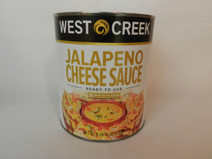 West Creek Jalapeno Cheese Sauce # 10 Can - Pack of 1 Count