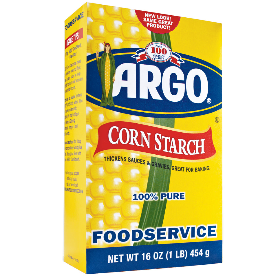 Argo Corn Starch 1lb - Pack of 24 Count