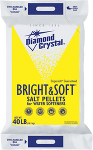 Diamond Crystal Bright & Soft Pellets 40lb. - Pack of 1 Count