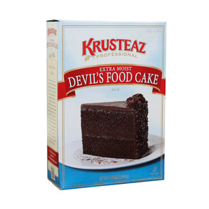 Krusteaz Professional Moist Devil's Food Cake Mix 4.5lb - Pack of 6 Count