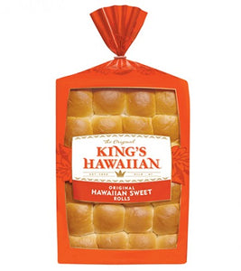 King's Hawaiian Frozen Original Rolls - Pack of 144 Count