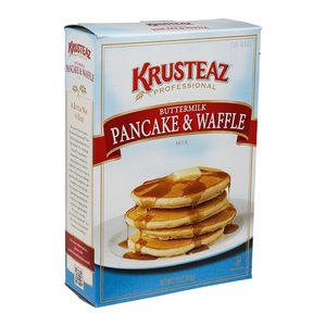 Krusteaz Professional Buttermilk Pancake & Waffle Mix 5lb. - Pack of 6 Count