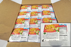 General Mills Lucky Charms Cereal Bowls 1oz. - Pack of 96 Count