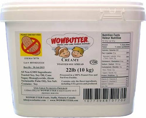 WOWBUTTER  Peanut Butter Substitute 22 lb. - Pack of 1 Count