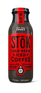 SToK Cold Brew Iced Coffee Black 13.7oz - Pack of 12 Count