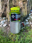750ml Titanium Mug with Lid, fits Nalgene 1L bottle