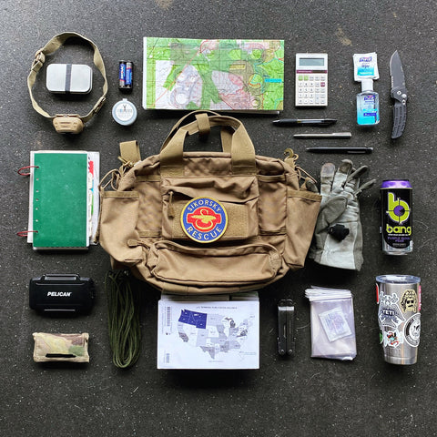 Flight Bag Layout