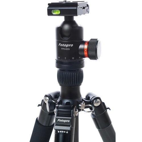 Fotopro X-GO Max with FPH-62Q Ball Head (Black)