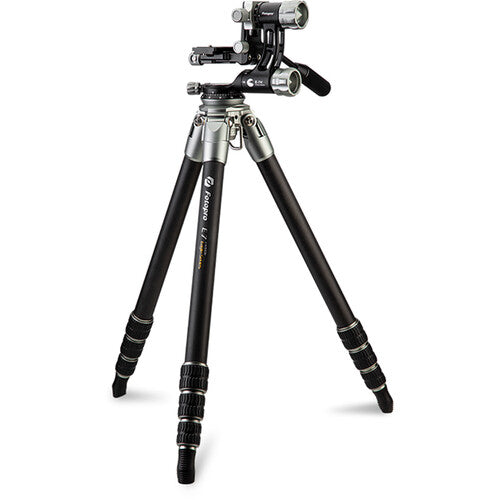 Fotopro E7 Carbon Fiber Tripod with Gimbal Head