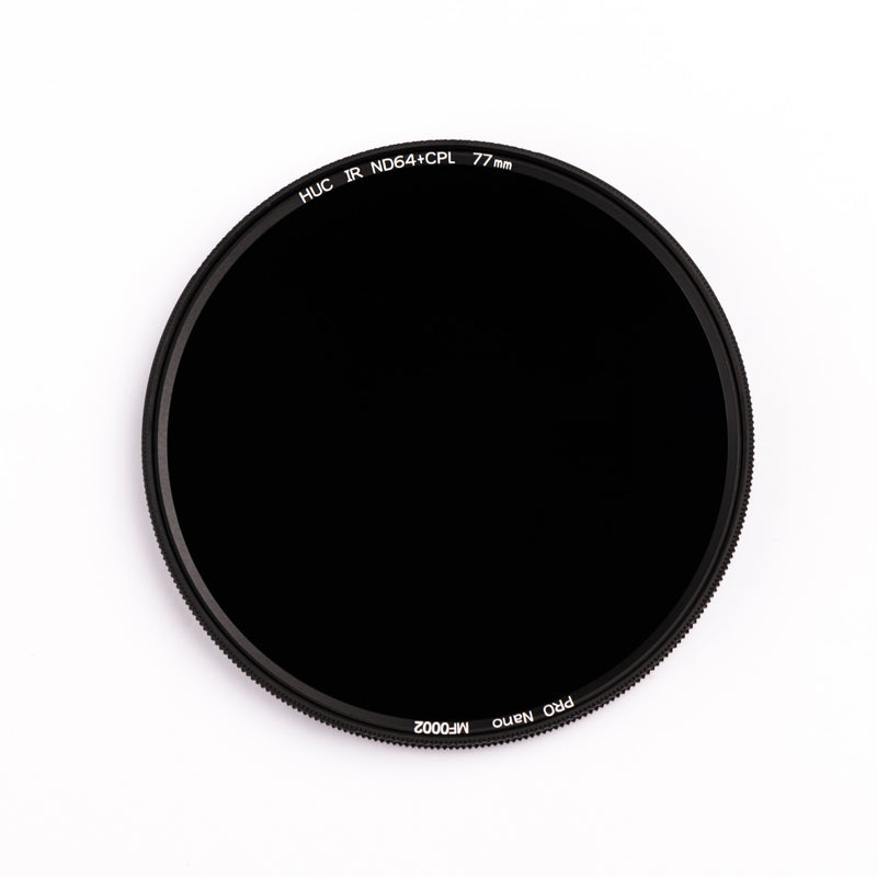 NiSi HUC PRO Nano IR ND64 + CPL Multifunctional Filter (62mm to 82mm)
