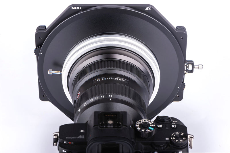 NiSi S6 150mm Filter Holder Kit with Pro CPL for Sony FE 12-24mm f/2.8 GM
