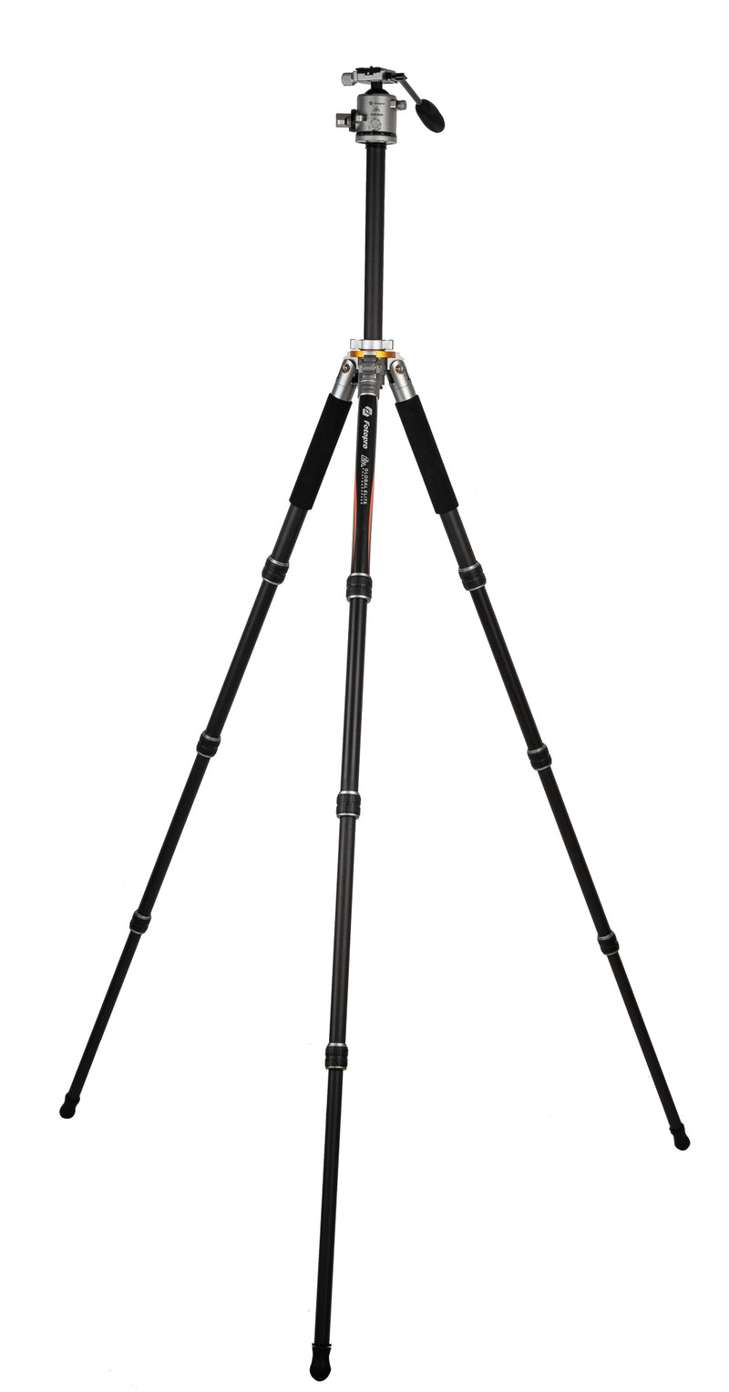 Fotopro Global Elite Photographer Series TL-74CL Carbon Fiber Tripod with LG-9R Ball Head