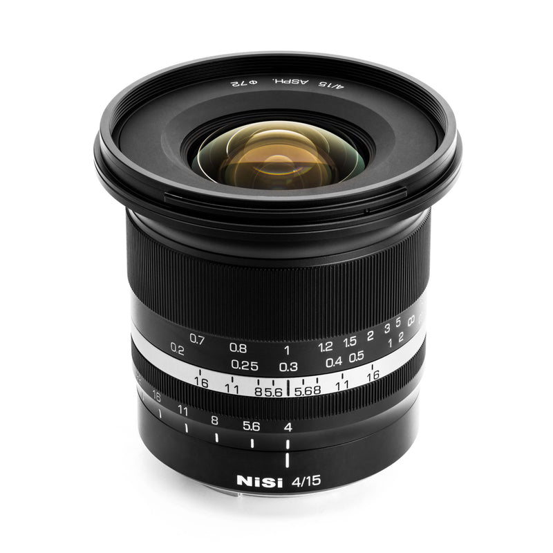 [PRE-ORDER NOW] NiSi 15mm f/4 Sunstar Wide Angle ASPH Lens (Fujifilm X Mount)
