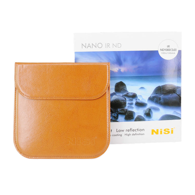 NiSi 100x100mm Nano IR Neutral Density filter – ND1000 (3.0) – 10 Stop