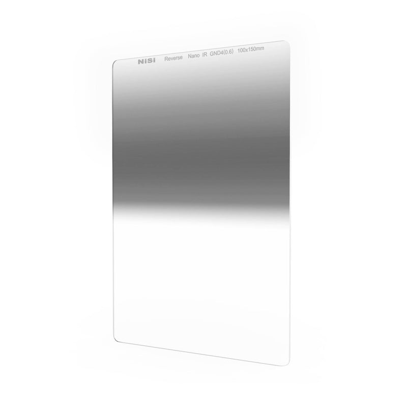 NiSi 100x150mm Reverse Nano IR Graduated Neutral Density Filter – ND4 (0.6) – 2 Stop