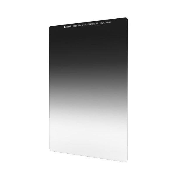 NiSi 180x210mm Nano IR Soft Graduated Neutral Density Filter – ND8 (0.9) – 3 Stop