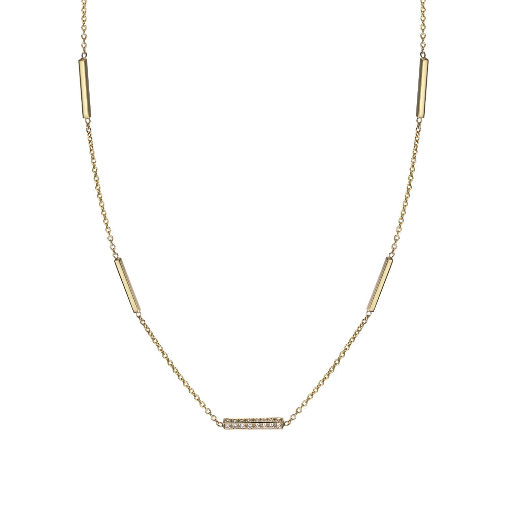 DIAMOND GRANDE LINE NECKLACE