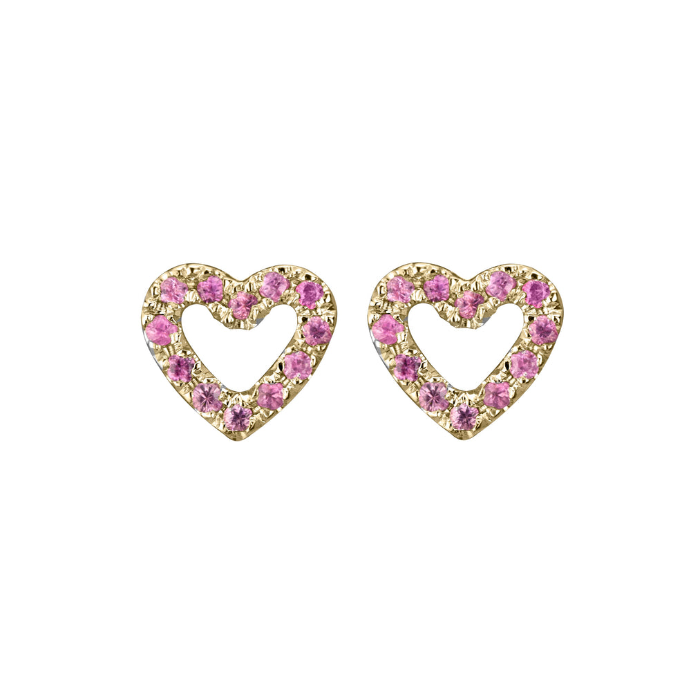 LIMITED EDITION HEART STUDS
