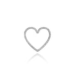 DIAMOND HEART CHARM (Small)