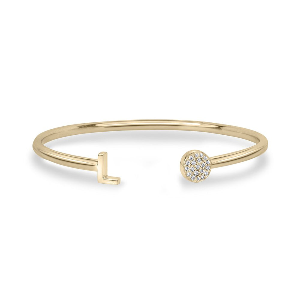 lafia name it diamond bangle yellow gold