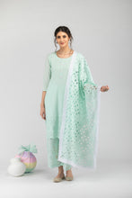Load image into Gallery viewer, Khalis Aqua Blue Dupatta
