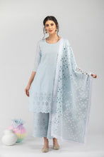 Load image into Gallery viewer, Khalis Powder Blue Dupatta