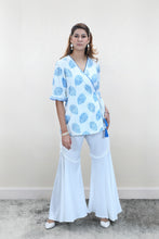 Load image into Gallery viewer, Printed Kimono Top with bell bottoms - Set of 2
