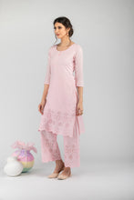 Load image into Gallery viewer, Khalis Pink Dupatta