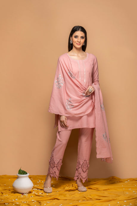 Shahaana Pink - Set of 3