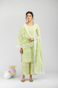 Khalis Pastel Green - Set of 3