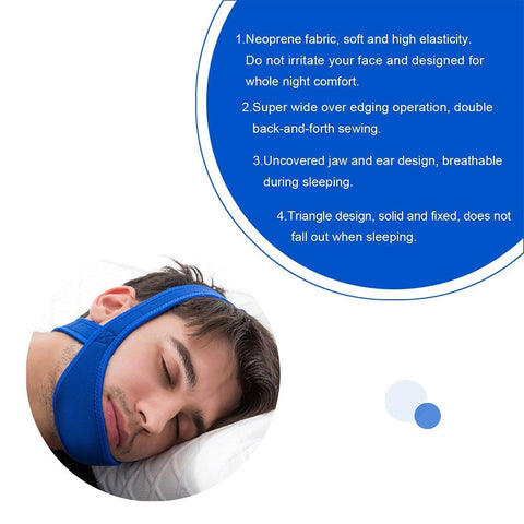 Image of Anti Snoring Strap Jaw Belt - Covlac