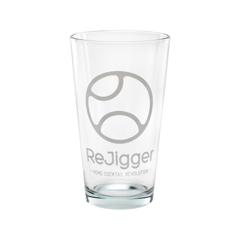 ReJigger Logo Pint Glass