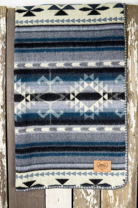 Baby Blanket | Dream Big Little One - Blue New York