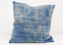 Load image into Gallery viewer, Bryar Wolf | Pampa Pillow - Blue New York