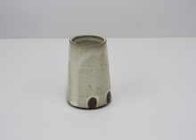 Load image into Gallery viewer, Clay Flower Vase - Blue New York