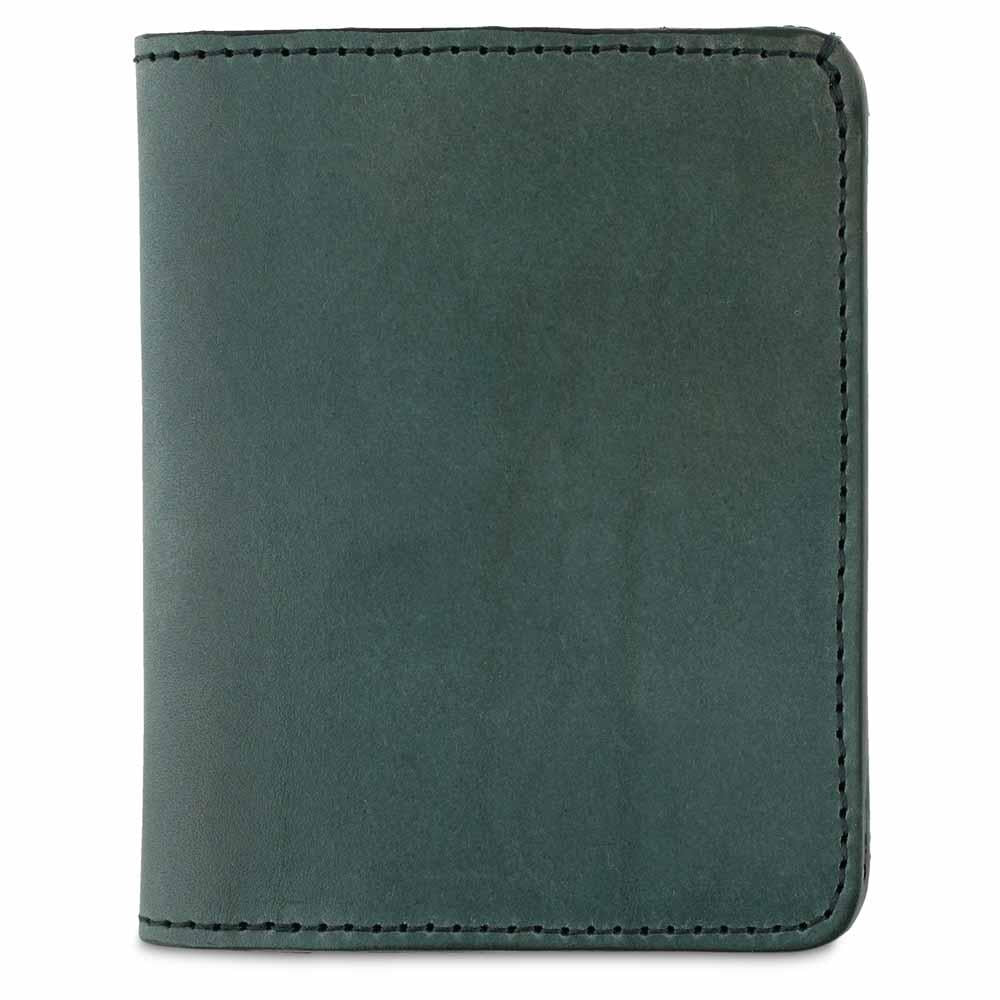 Escuyer | Slim Wallet | Green - Blue New York