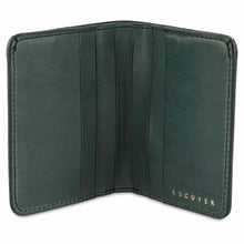 Load image into Gallery viewer, Escuyer | Slim Wallet | Green - Blue New York