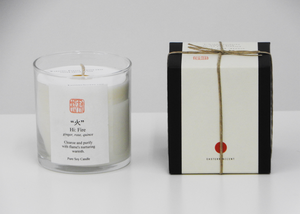Pure Soy Candle | Fire - Blue New York