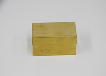 Load image into Gallery viewer, Brass Box - Blue New York