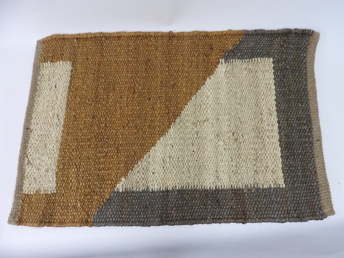 Tantuvi | Hemp Rug | Sand - Blue New York