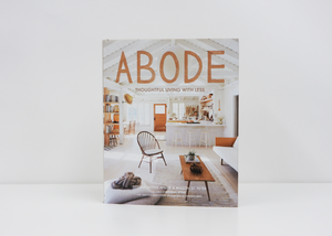 Abrams | Abode: Thoughtful Living with Less | Serena Mitnik-Miller - Blue New York