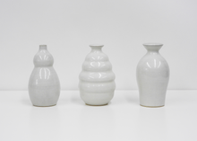 Load image into Gallery viewer, Japanese Ceramic Vase | White - Blue New York