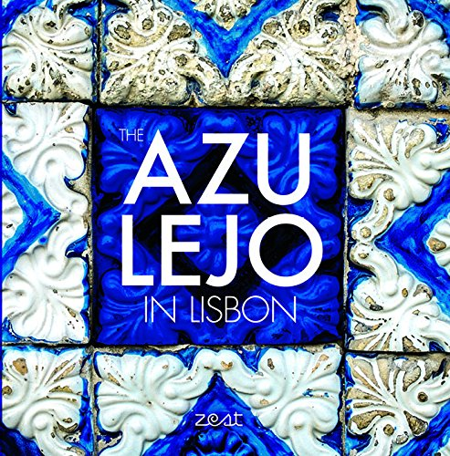Azulejo in Lisbon - Blue New York