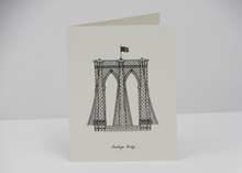 Load image into Gallery viewer, Sutta | Greeting Cards | New York Theme - Blue New York