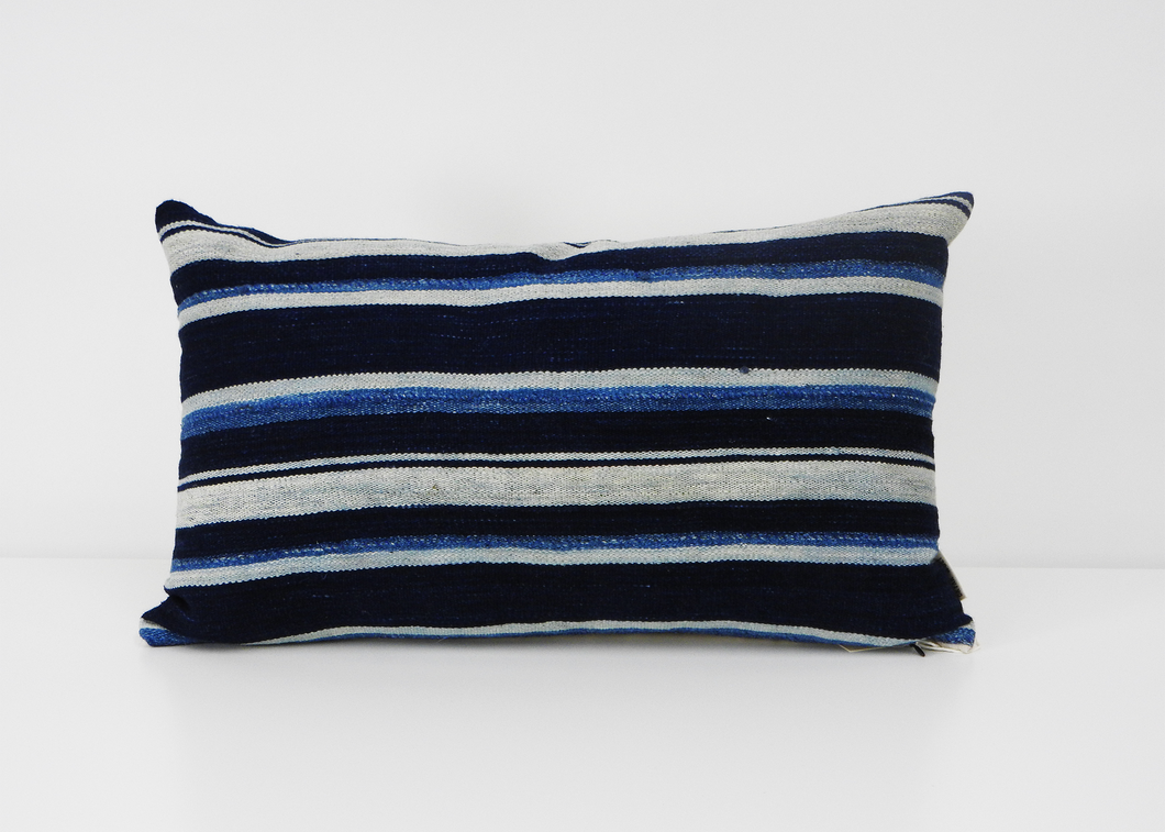 Bryar Wolf | Lumbar Pillow | Speke - Blue New York